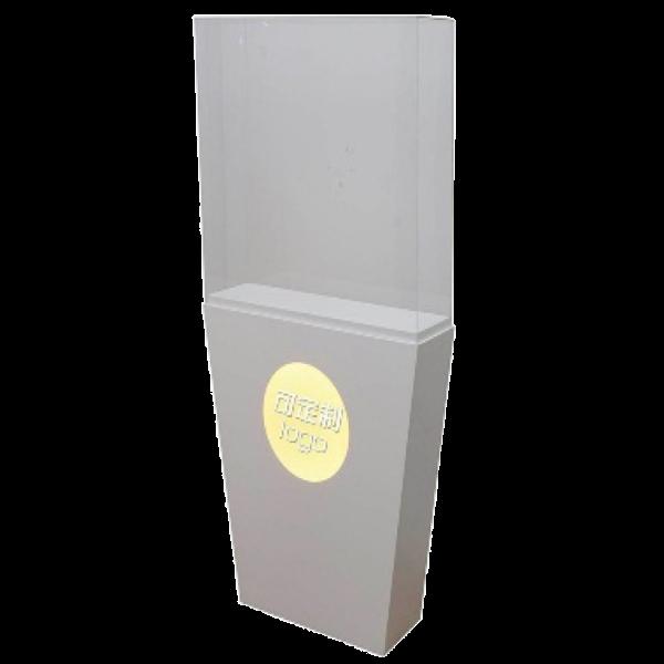Floor-Standing Vertical Square Display Cabinet